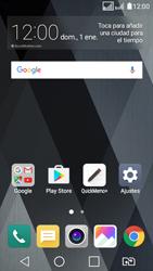 LG K4 (2017) - E-mail - Configurar Outlook.com - Paso 1