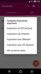 Sony Xperia XZ - Android Nougat - Contacten en data - Contacten kopiëren van toestel naar SIM - Stap 6