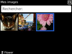 BlackBerry 8520 - Photos, vidéos, musique - Envoyer une photo via Bluetooth - Étape 6