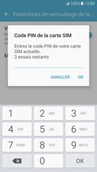Samsung Galaxy S7 - Sécuriser votre mobile - Personnaliser le code PIN de votre carte SIM - Étape 8