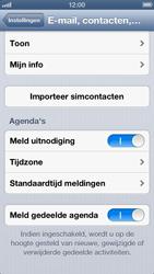 Apple iPhone 5 - Contacten en data - Contacten kopiëren van SIM naar toestel - Stap 4