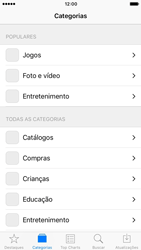 Apple iPhone iOS 10 - Aplicativos - Como baixar aplicativos - Etapa 5