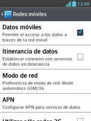 LG Optimus L3 II - Internet - Configurar Internet - Paso 8
