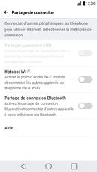 LG G5 - Internet et connexion - Partager votre connexion en Wi-Fi - Étape 4