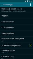 Samsung Galaxy S5 Mini (G800) - SMS - handmatig instellen - Stap 6