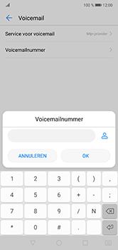 Huawei P20 Lite - Voicemail - Handmatig instellen - Stap 8