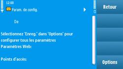 Nokia N97 - Internet - configuration automatique - Étape 5