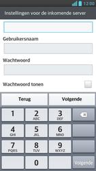 LG P875 Optimus F5 - E-mail - Handmatig instellen - Stap 11