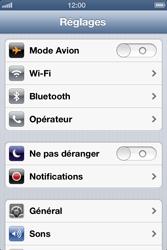 Apple iPhone 4 - iOS 6 - Bluetooth - connexion Bluetooth - Étape 5