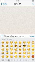 Apple iPhone 6 iOS 9 - WhatsApp - Verstuur een tekstbericht met WhatsApp - Stap 9