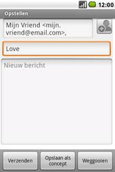 LG GW620 - E-mail - e-mail versturen - Stap 7