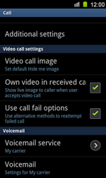 Samsung I8160 Galaxy Ace II - Voicemail - Manual configuration - Step 5