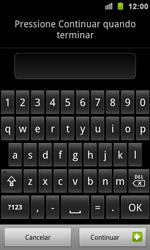 Samsung Galaxy S II - Segurança - Como ativar e desativar um código para bloqueio de tela do seu celular - Etapa 8