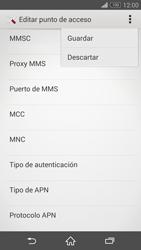 Sony Xperia Z3 - Internet - Configurar Internet - Paso 15