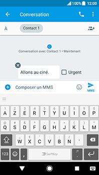 Sony Xperia XA2 Ultra - Contact, Appels, SMS/MMS - Envoyer un MMS - Étape 9