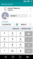 LG LG K8 - Contact, Appels, SMS/MMS - Ajouter un contact - Étape 6