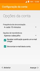 Alcatel Pop 3 - Email - Configurar a conta de Email -  23