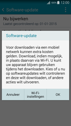 Samsung A300FU Galaxy A3 - Software update - update installeren zonder PC - Stap 7
