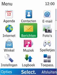 Nokia X2-00 - MMS - probleem met ontvangen - Stap 3