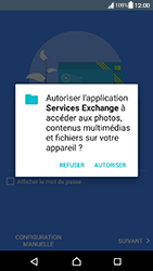 Sony Xperia XA (F3111) - Android Nougat - E-mail - Configuration manuelle (outlook) - Étape 11