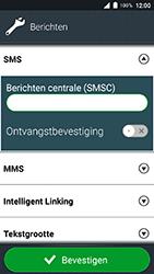 Doro 8035 - SMS - SMS-centrale instellen - Stap 9