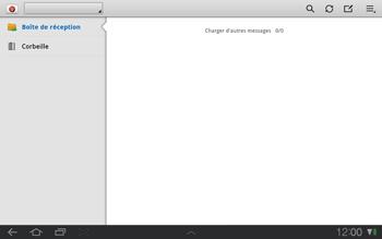 Samsung P7500 Galaxy Tab 10-1 - E-mail - Configuration manuelle - Étape 4