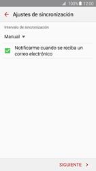 Samsung Galaxy S6 - E-mail - Configurar correo electrónico - Paso 16
