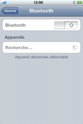 Apple iPhone 4 - Bluetooth - Jumeler avec un appareil - Étape 5