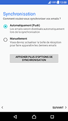 Sony Xperia XA (F3111) - Android Nougat - E-mail - Configuration manuelle (outlook) - Étape 13