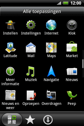 HTC A510e Wildfire S - Voicemail - handmatig instellen - Stap 3