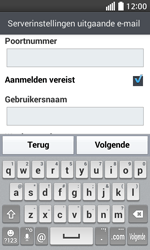 LG D320 L70 - E-mail - Account instellen (IMAP zonder SMTP-verificatie) - Stap 13