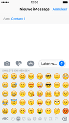 Apple iPhone SE - iOS 10 - iOS features - Stuur een iMessage - Stap 15