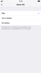 Apple iPhone 6s - iOS 12 - Internet no telemóvel - Como ativar 4G -  6