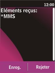 Nokia C2-03 - MMS - Configuration automatique - Étape 4