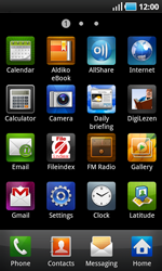 Samsung I9000 Galaxy S - Internet - Enable or disable - Step 3
