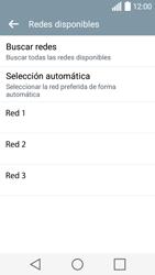LG Leon - Red - Seleccionar una red - Paso 9
