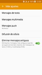 Samsung Galaxy J3 (2016) DualSim (J320) - Mensajería - Configurar el equipo para mensajes de texto - Paso 7