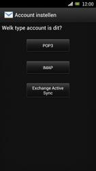 Sony Ericsson Xperia Arc met OS 4 ICS - E-mail - Handmatig instellen - Stap 9