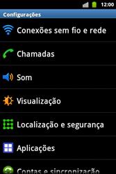 Samsung Galaxy Ace - Mensagens - Como configurar seu celular para mensagens multimídia (MMS) - Etapa 4