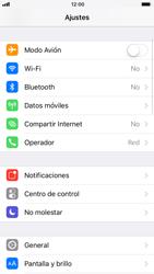 Apple iPhone 8 - Funciones básicas - Activar o desactivar el modo avión - Paso 3