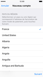 Apple iPhone 5s iOS 9 - Applications - Créer un compte - Étape 9