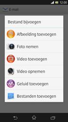 Sony Xperia Z 4G (C6603) - E-mail - Hoe te versturen - Stap 11