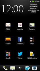 HTC One Mini - E-mail - envoyer un e-mail - Étape 2