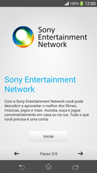 Sony C5303 Xperia SP - Primeiros passos - Como ativar seu aparelho - Etapa 8