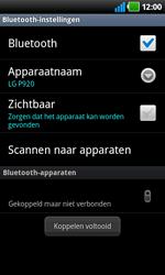 LG P920 Optimus 3D Speed - Bluetooth - Headset, carkit verbinding - Stap 9