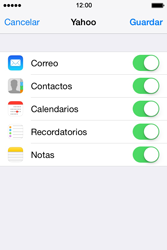 Apple iPhone 4S iOS 7 - E-mail - Configurar Yahoo! - Paso 9