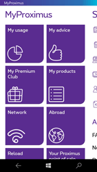 Microsoft Lumia 650 - Applications - MyProximus - Step 13