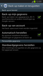 Samsung N7100 Galaxy Note II - Toestel reset - terugzetten naar fabrieksinstellingen - Stap 5