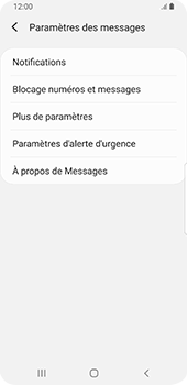 Samsung Galaxy S9 Android Pie - SMS - configuration manuelle - Étape 6