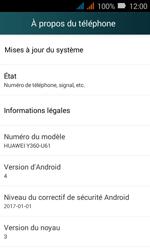 Huawei Y3 - Appareil - Mises à jour - Étape 5